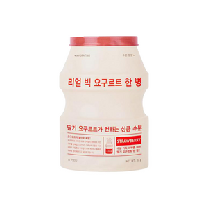 A'PIEU Real Big Yogurt One-Bottle (Strawberry) 1pc - Formula Bright