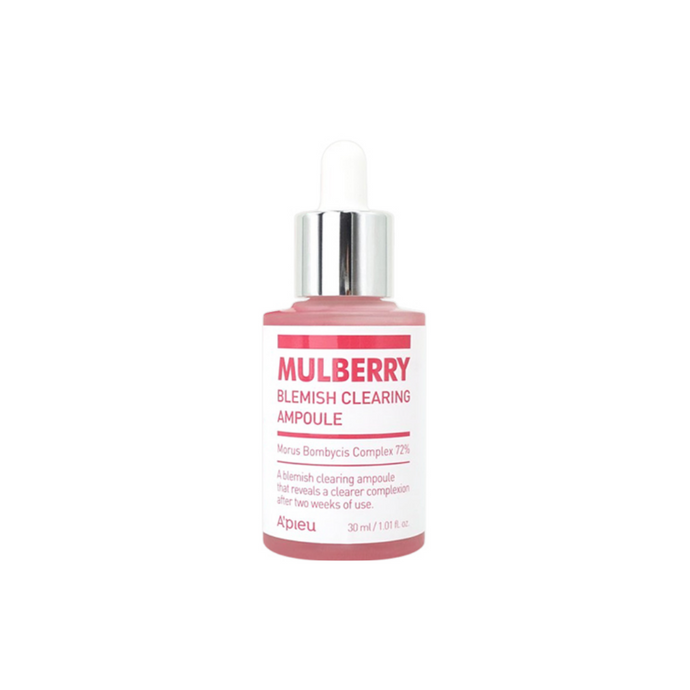 A'PIEU Mulberry Blemish Clearing Ampoule 30ml - Formula Bright