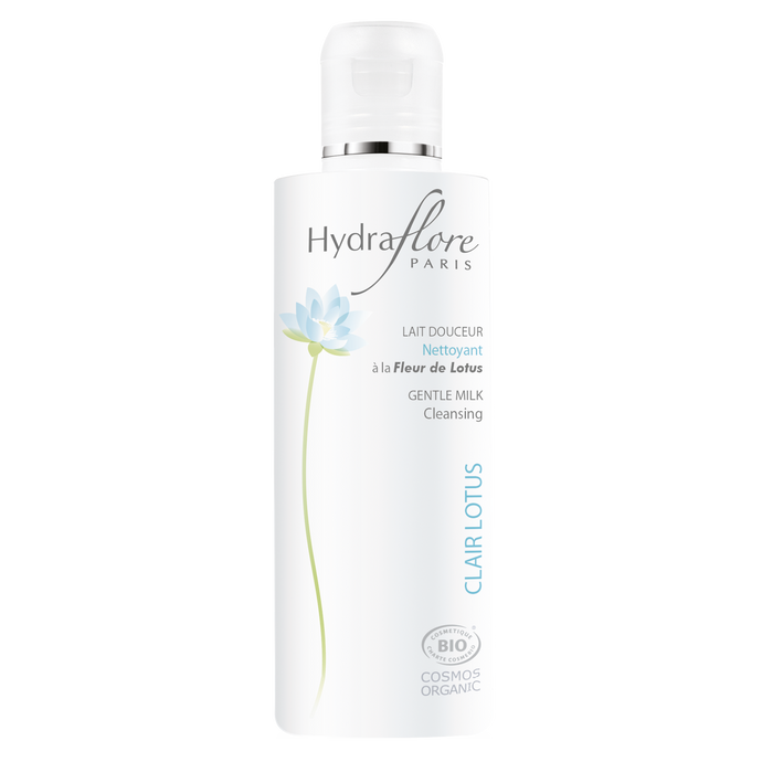 HYDRAFLORE Clair Lotus Gentle Milk 200ml - Formula Bright