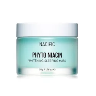 NACIFIC Phyto Niacin Whitening Sleeping Mask 50g+10g - Formula Bright