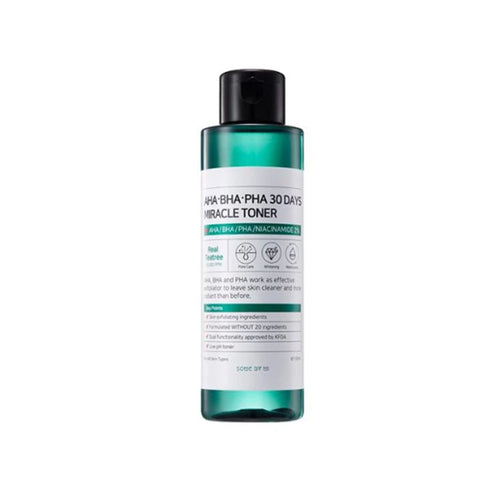 SOME BY MI AHA BHA PHA 30 Days Miracle Toner 150ml - Formula Bright