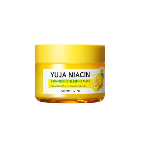 SOME BY MI Yuja Niacin Brightening Sleeping Mask 60g - Formula Bright