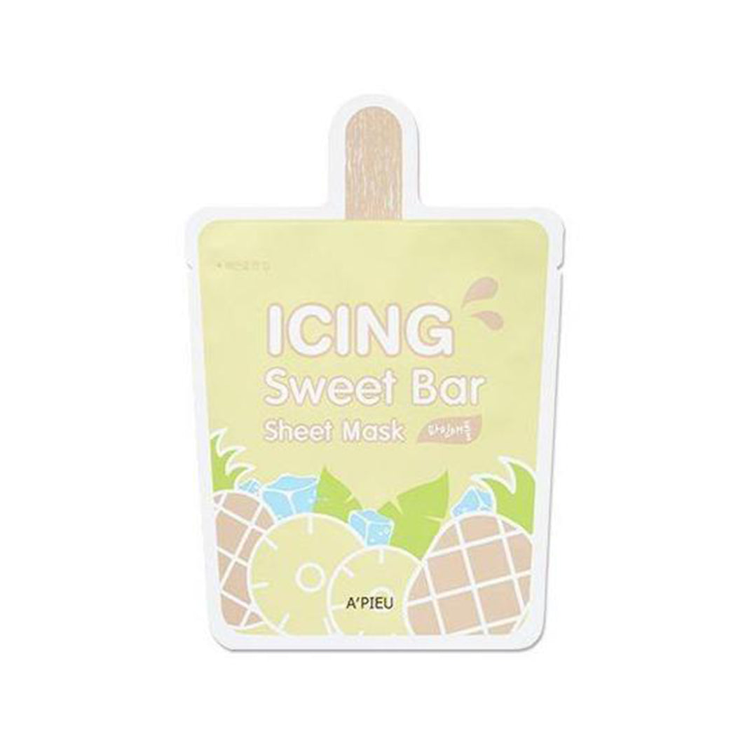 Icing Sweet Bar Sheet Mask (Pineapple) 1pc - Formula Bright