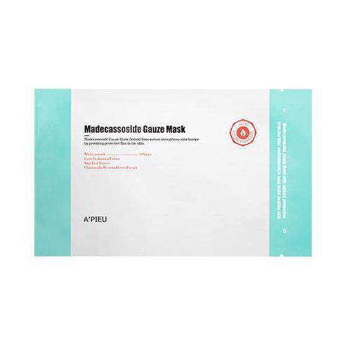 Madecassoside Gauze Mask 1pc - Formula Bright