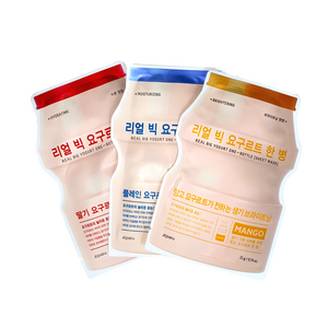 A'PIEU Real Big Yogurt Mask Bundle - Formula Bright