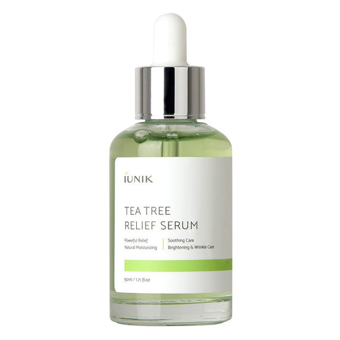 IUNIK Tea Tree Relief Serum 50ml - Formula Bright