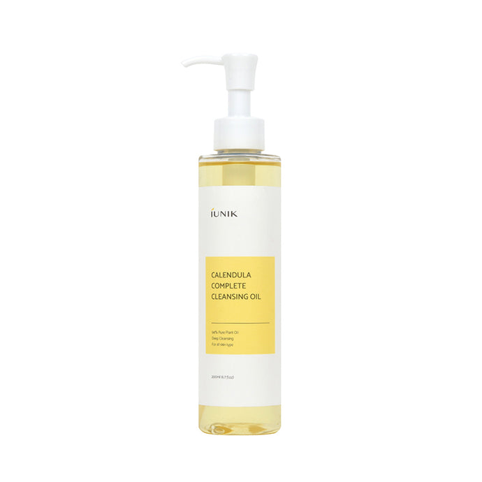 IUNIK Calendula Complete Cleansing Oil 200ml - Formula Bright