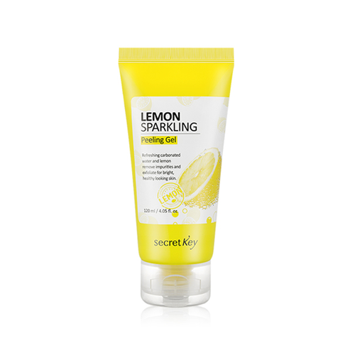 SECRET KEY Lemon Sparkling Peeling Gel 120ml - Formula Bright