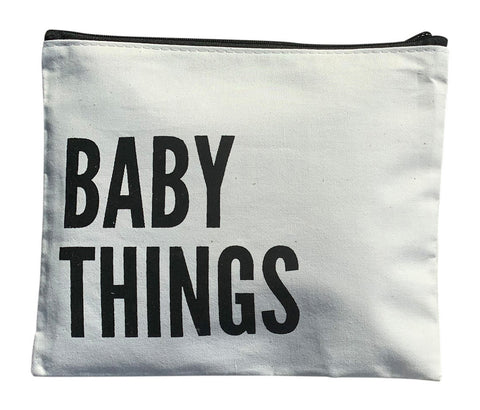 Baby Things Canvas Bag