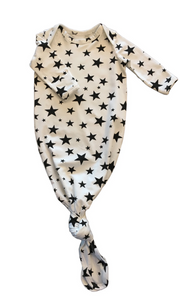 Star Baby Gown in a Canvas Bag