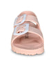 Blush Toddler Water Shoes for Girls & Boys | Slip on Sandals, Washable