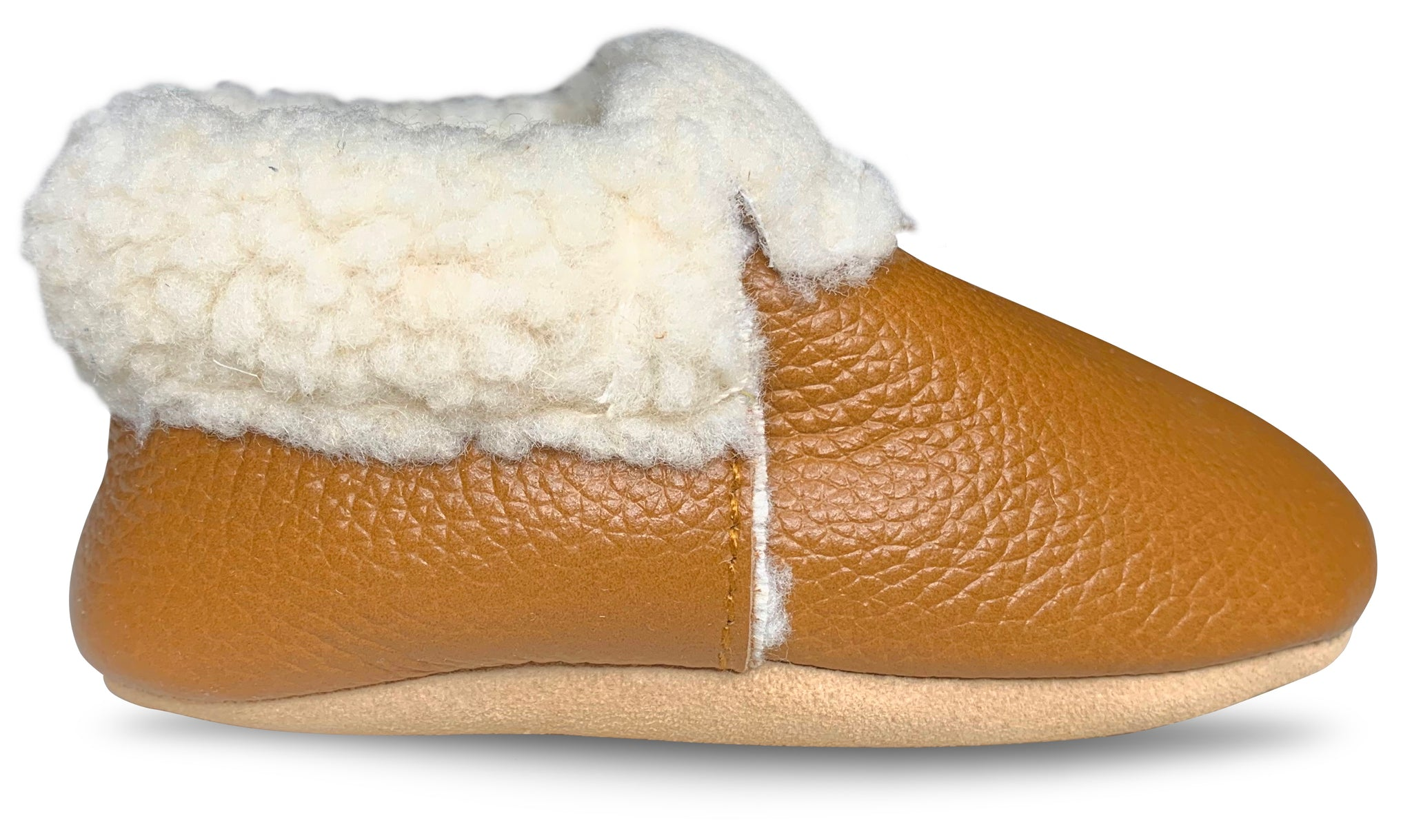 Ginger Sherpa Moccasins – Lucky Love