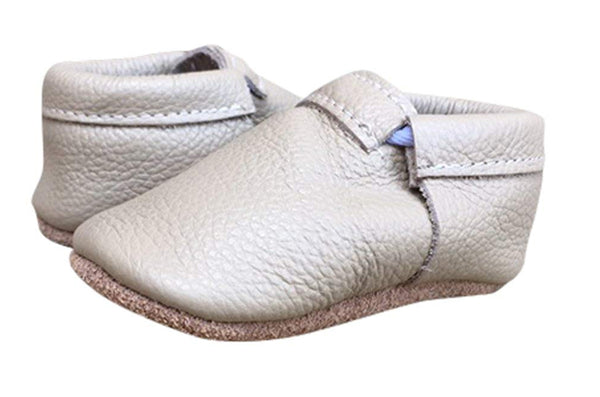 Beige Soft Sole Prewalker Shoes