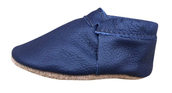 Navy Soft Sole Prewalker Shoes