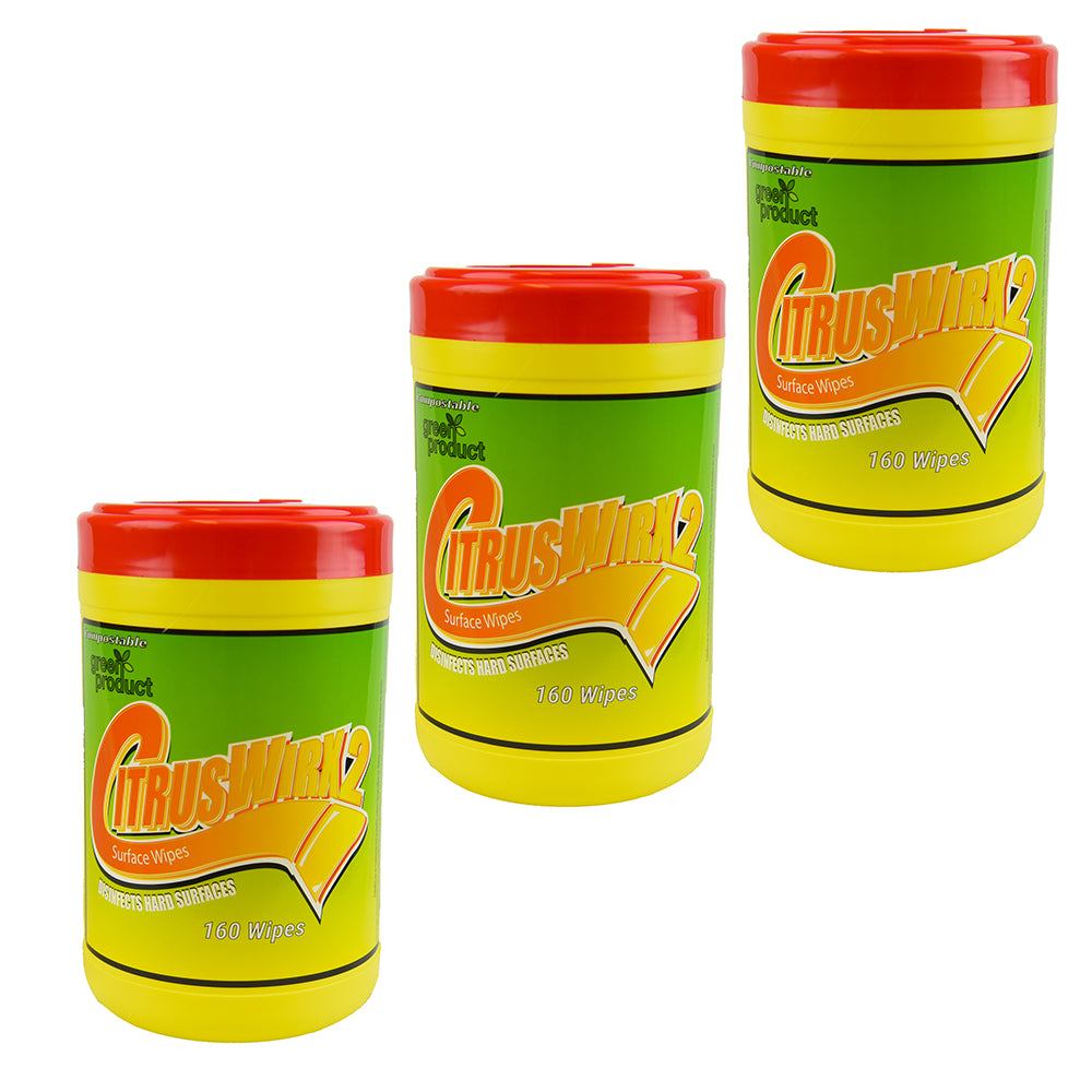 CitrusWirx 160 Count Canister