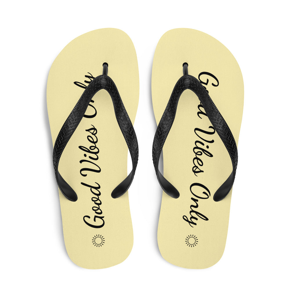 Flip Flop Tropical Havaianas Yellow - Good Vibes Only