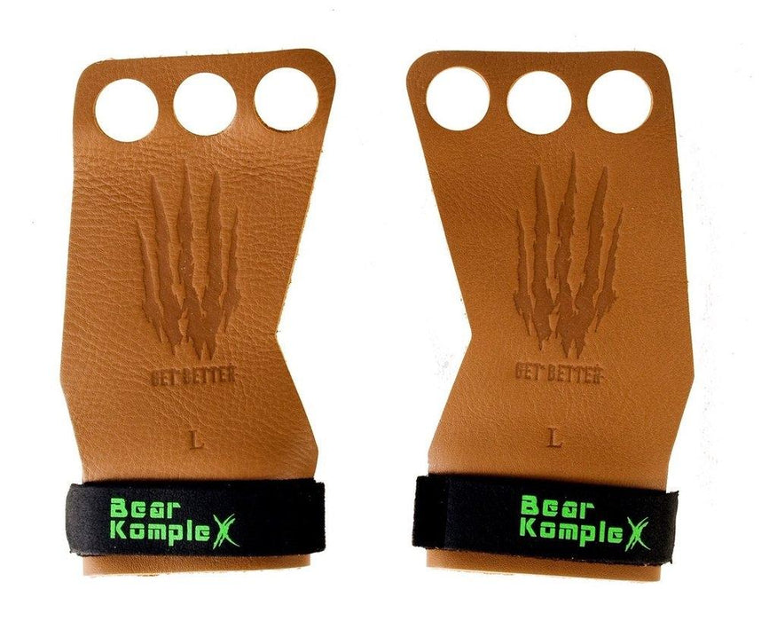 3 Hole hand Grips leather