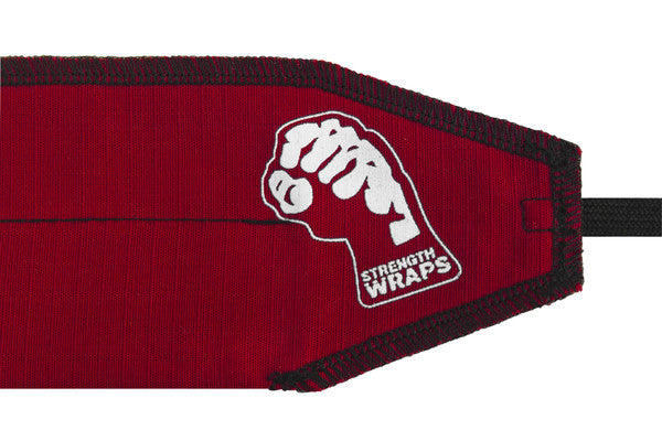Strength Wraps - Bleed Red