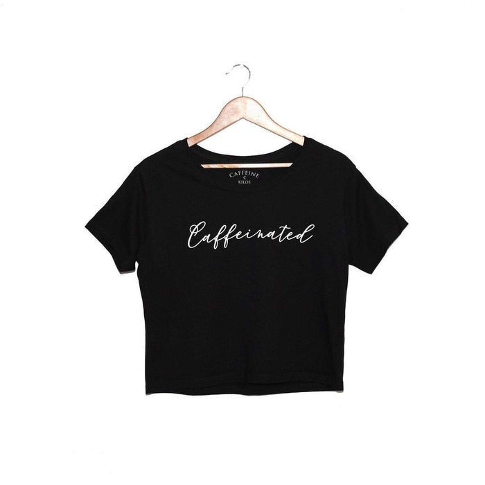 Caffeinated Crop top
