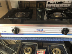 Tiger Double Gas Cooker YC818S