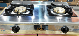 Tiger Double Burner Gas Cooker YC-888S