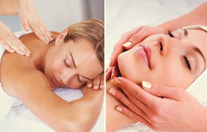 120-min. Signature Pamper – Facial & Massage Combo