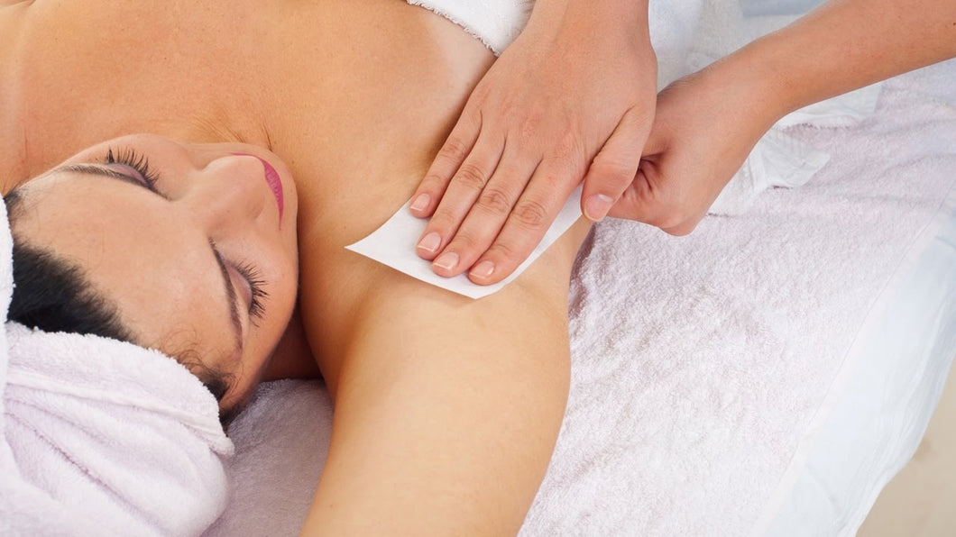 Under Arm Waxing For Women