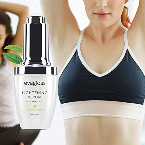 Lightening Serum with Kojic Acid for Face & Body 20ml by Evagloss