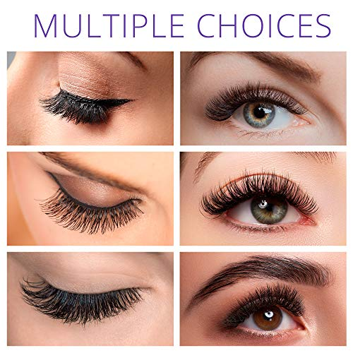 Forthera Magnetic Eyelashes with Eyeliner Kit - 7 Pairs - Easy to Apply with Natural Look