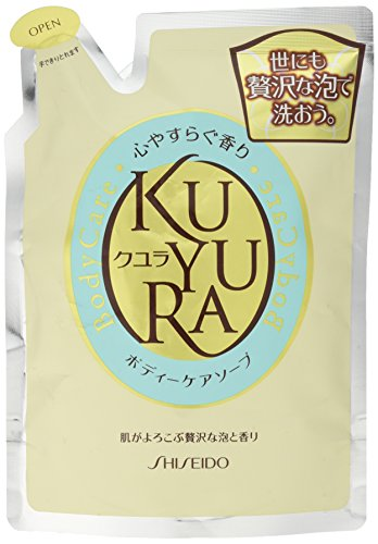 Shiseido KUYURA | Body Wash | Relax Fragrance Refill 400ml