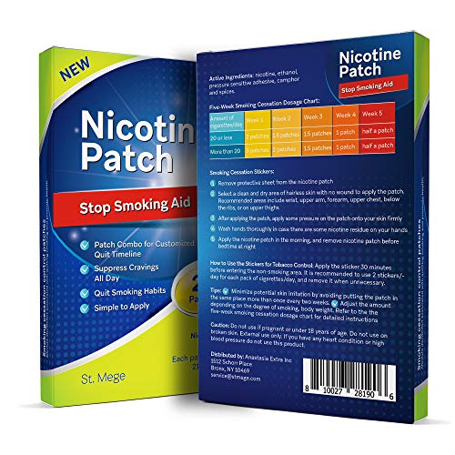 Stop Smoking Aid Nicotine Patch : Easy and Effective Anti-Smoking Stickers