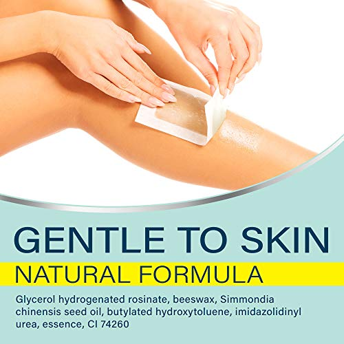 ANLOME Body Wax Strips for Face Legs Underarms