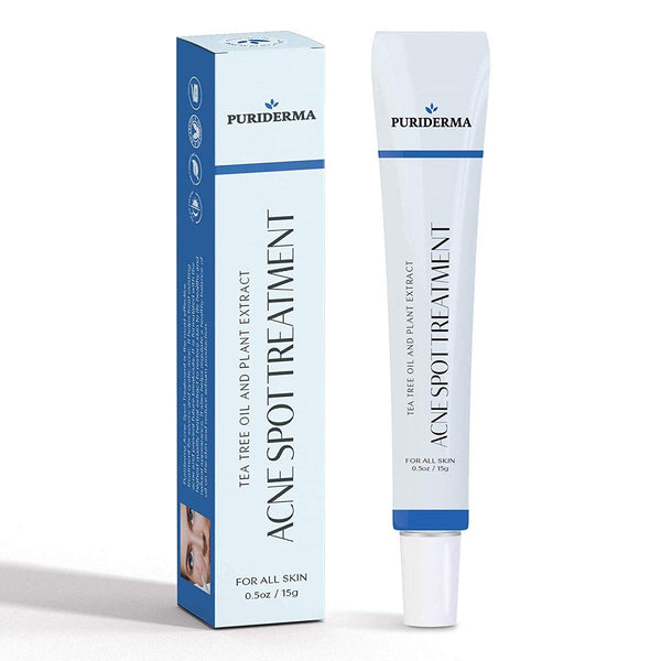Puriderma Acne Spot Treatment for Acne Prone Skin, Mild, Moderate, Severe, Cystic Acne