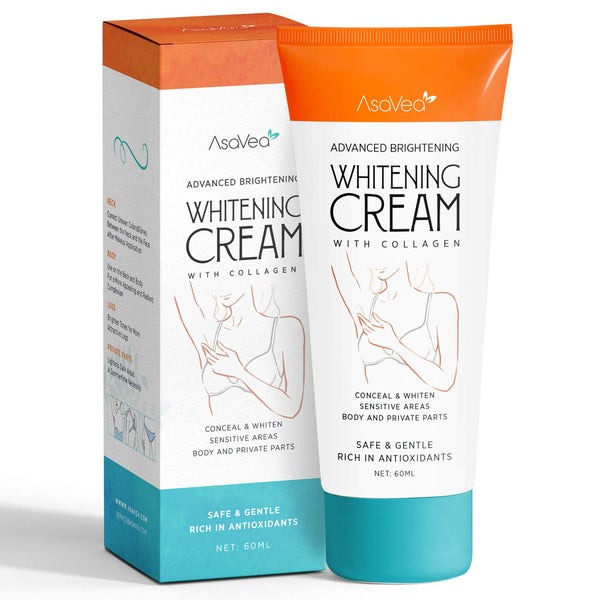 Whitening Cream for Armpits, Intimate Parts, Between Legs