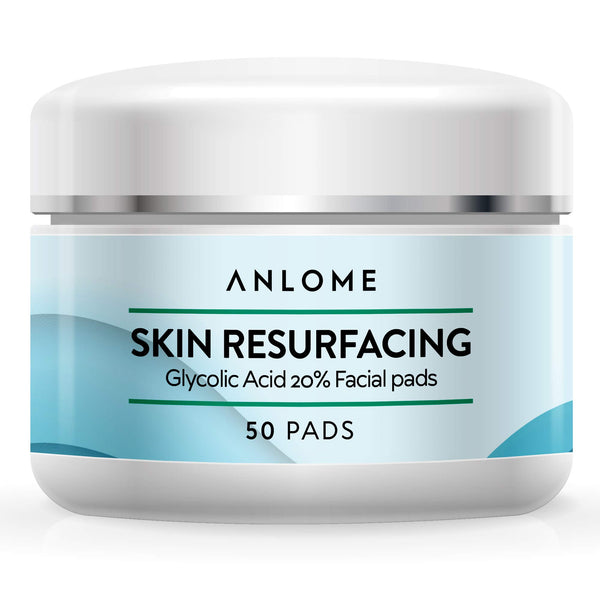 Glycolic Acid Pads 20% Resurfacing Pads, Exfoliates Treats Acne Wrinkles, Fine Lines