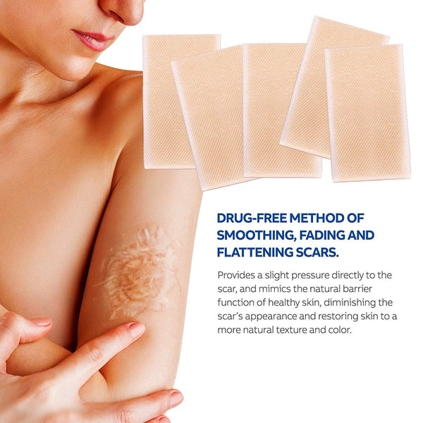 Puriderma Medical Silicone Scar Removal Sheets [Set of 5]