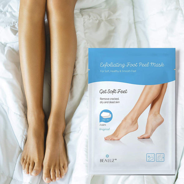 Exfoliating Foot Peel Mask Exfoliant for Soft Feet in 1-2 Weeks, Peeling Off Calluses