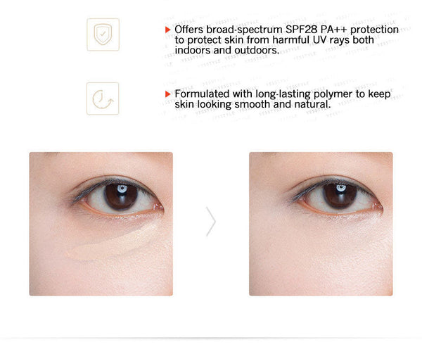 The Saem - Cover Perfection Tip Concealer SPF28 PA++