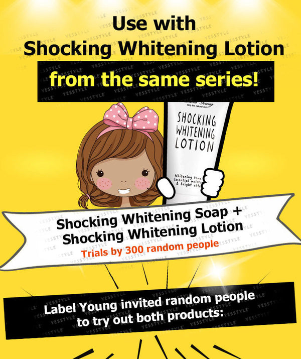 Label Young - Shocking Whitening Soap 90g