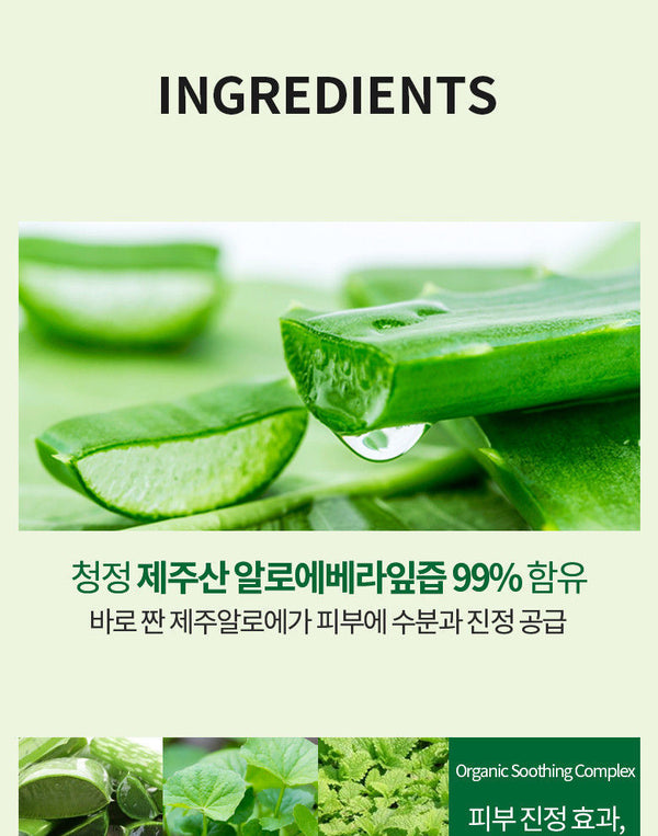 HOLIKA HOLIKA - Aloe 99% Soothing Gel 250ml