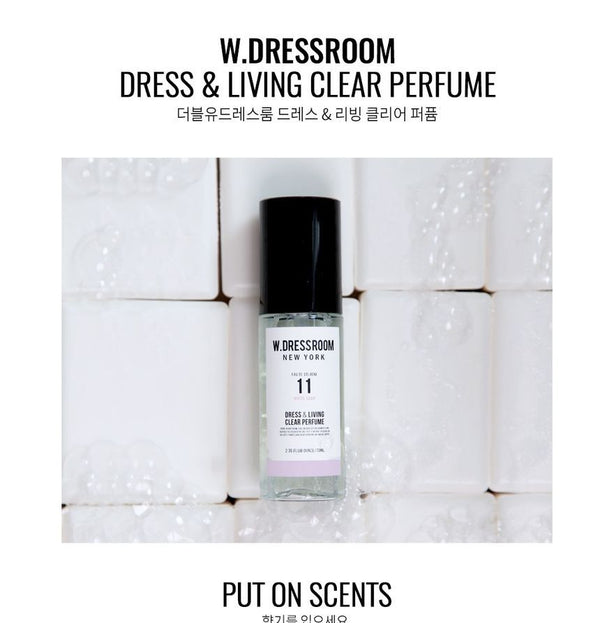 W.DRESSROOM - Dress & Living Clear Perfume Portable #11 White Soap 70ml
