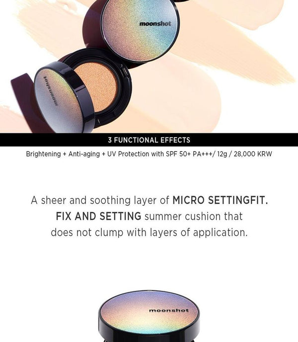 moonshot - Micro Settingfit Cushion Refill Only - 3 Colors