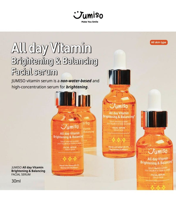 JUMISO - All Day Vitamin Brightening & Balancing Facial Serum