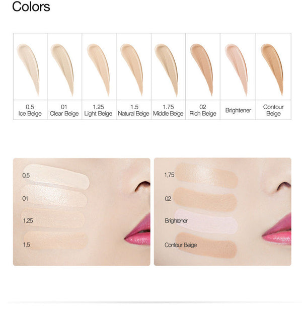 The Saem - Cover Perfection Tip Concealer - 5 Colors