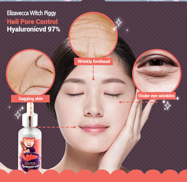 Elizavecca - Witch Piggy Hell Pore Control Hyaluronic Acid 97% 50ml