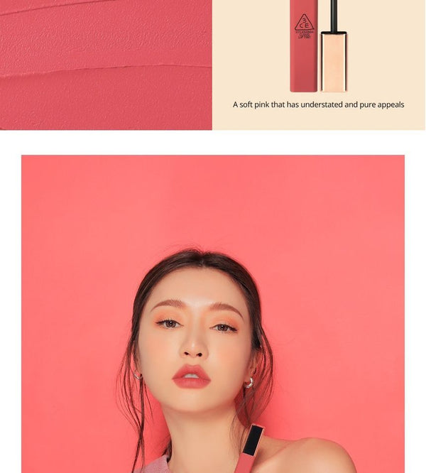3CE - Cloud Lip Tint - 12 Colors