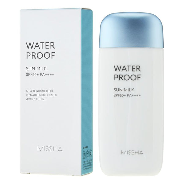 MISSHA - All-around Safe Block Waterproof Sun Milk SPF50+ PA++++ 70ml