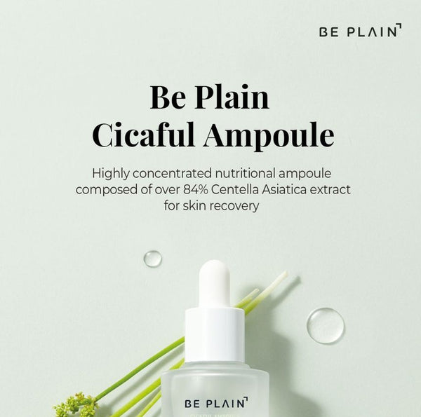 BE PLAIN - Cicaful Ampoule Jumbo Size
