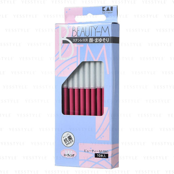 KAI - Beauty M Shape Shaving Razor 10 pcs