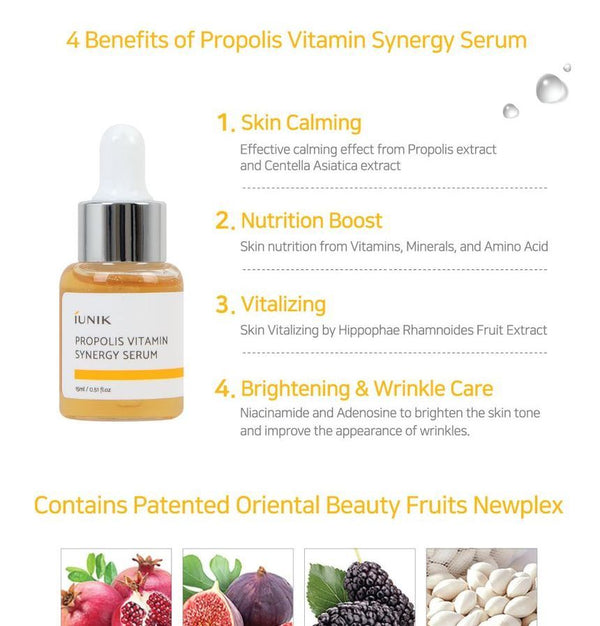 iUNIK - Propolis Vitamin Synergy Serum Mini